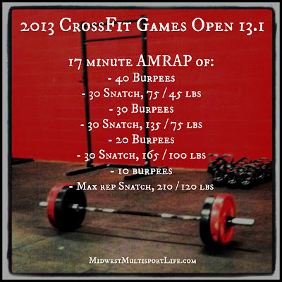 2013 CrossFit Games Open 13.1