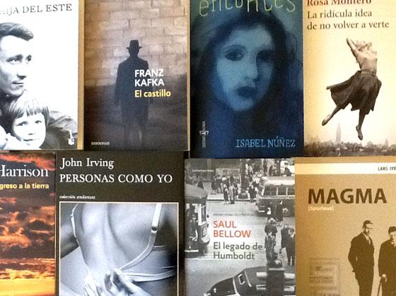 Bellow, Harrison, Irving, Iyer, Kafka, Montero, Núñez, Usón
