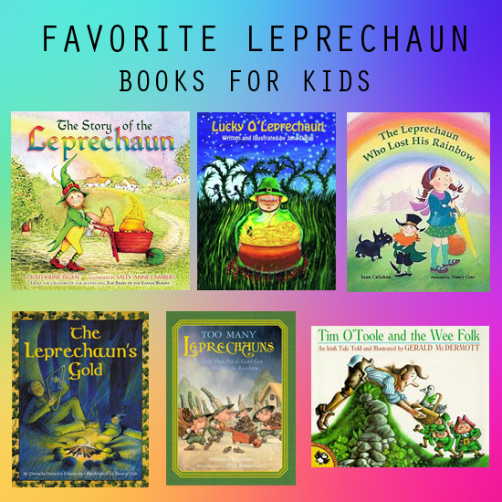 Favorite Leprechaun Books for Kids from Everyday Magic Blog.