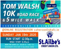 10k race in Caherconlish, Limerick - Sun 19th Jan 2020