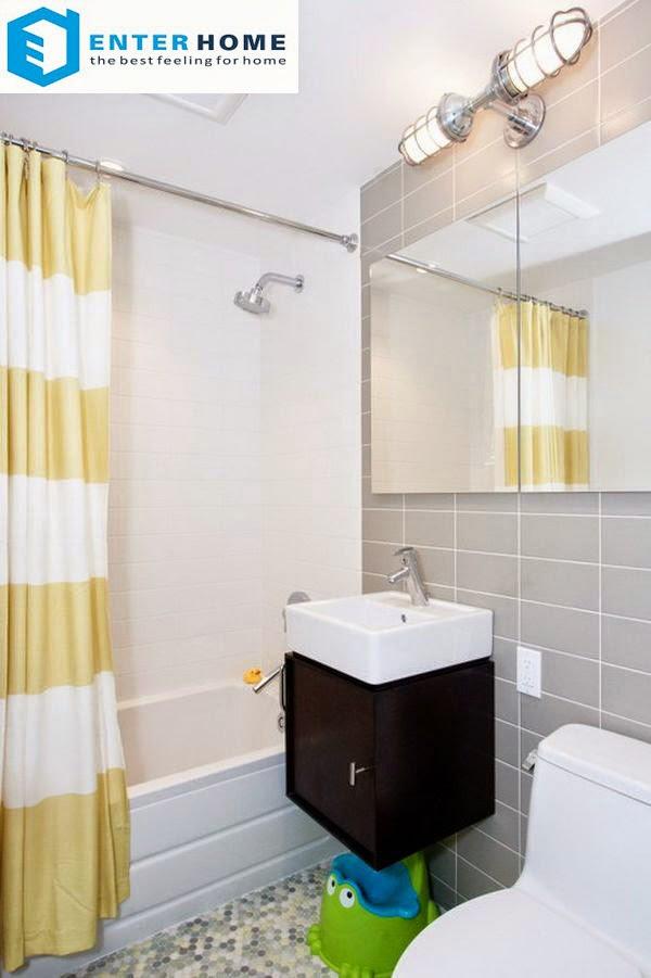 thiết kế nội thất phòng tắm nhà vệ sinh 6