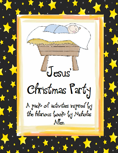 http://www.teacherspayteachers.com/Product/Jesus-Christmas-Party-Full-Unit-of-Activities-for-Christmas-430957
