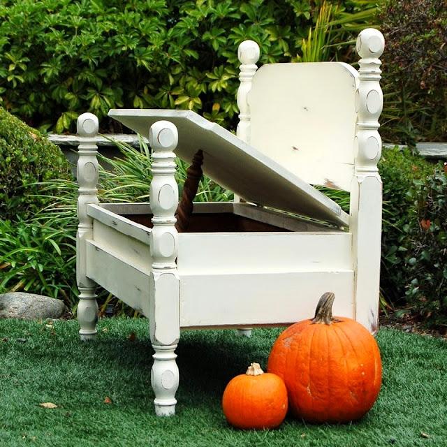 Idee per riciclare un vecchio letto - Idee per riciclare ...