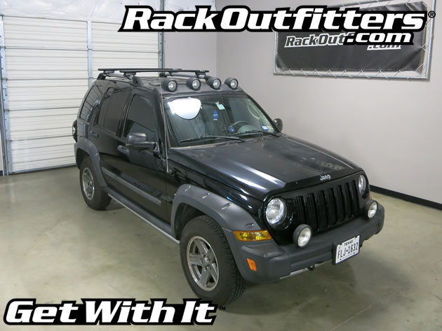 This Complete Multi Purpose Base Roof Rack Is The Perfect Fit For The 2002,  2003, 2004, 2005, 2006, And 2007 Jeep Liberty With Raised Rails That Run  Front ...
