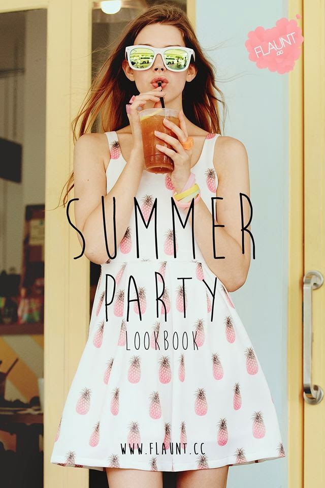 Flaunt CC 'Summer Party' Lookbook 2014