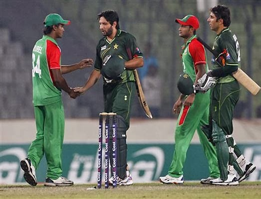 Pakistan Vs Bangladesh Asia Cup Match