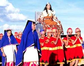 Imagen de la Fiesta del Inti Raymi
