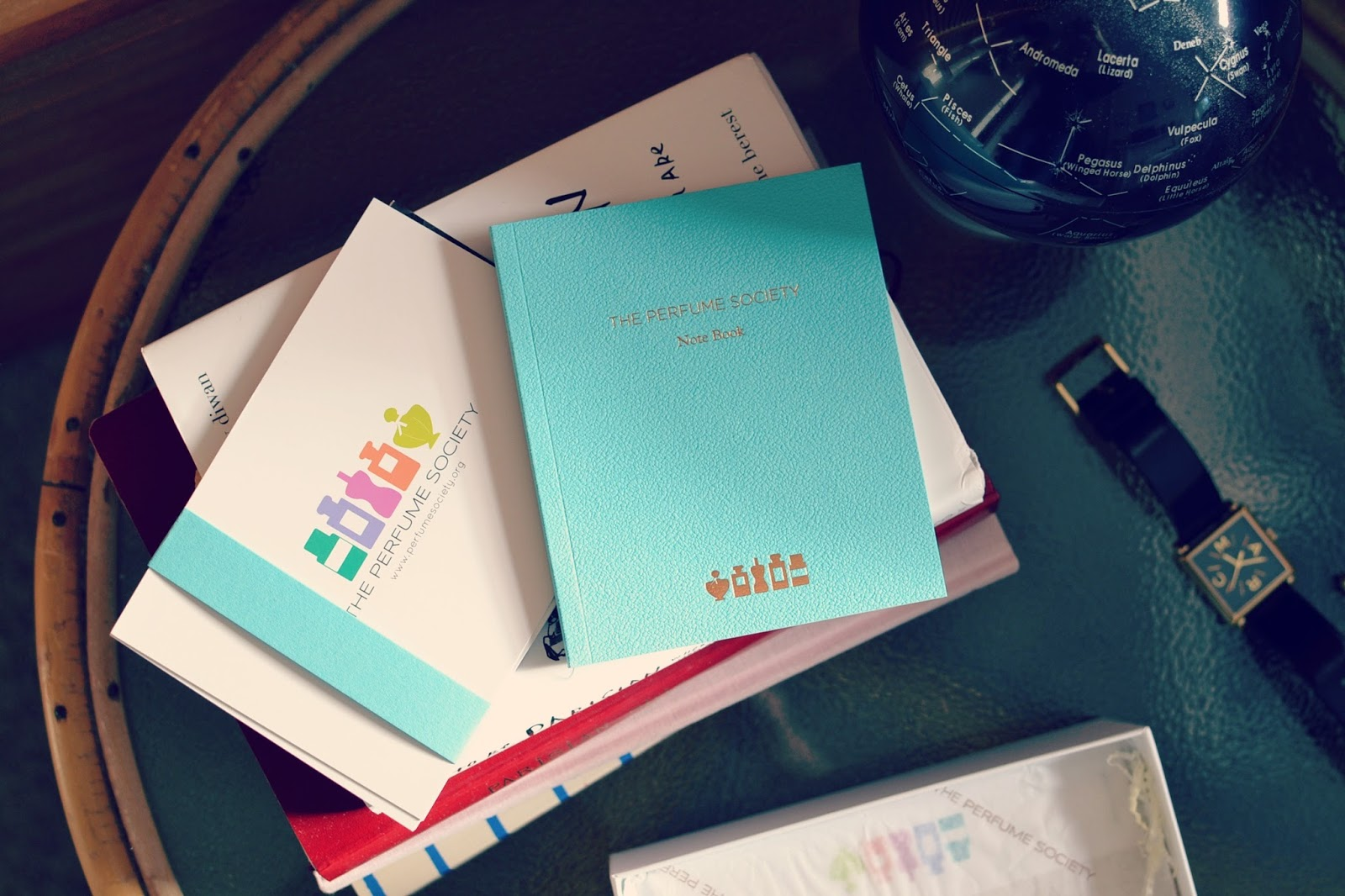 the perfume society notebook