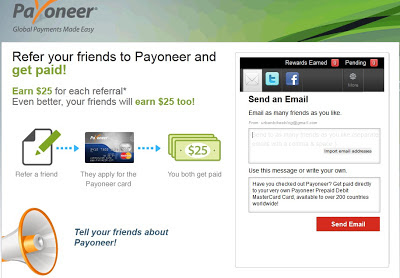 refer friends payoneer