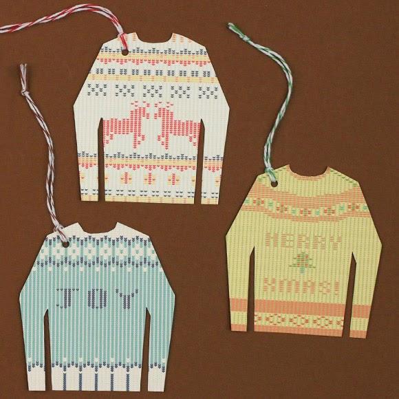 Free Christmas Gift Tags to Print