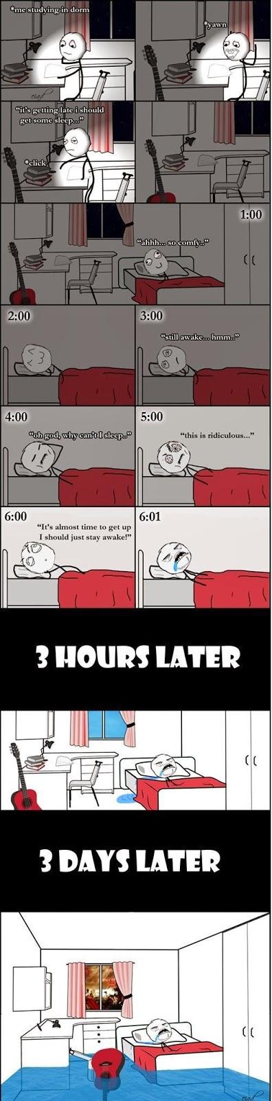 I am a Heavy Sleeper