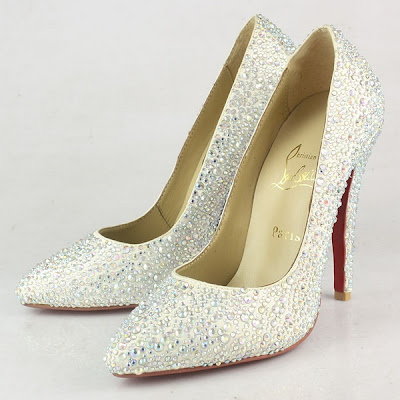 Bridal Shoes Glitter Pumps