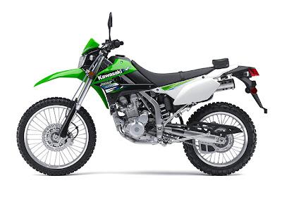 2014 Kawasaki KLX 250S Green