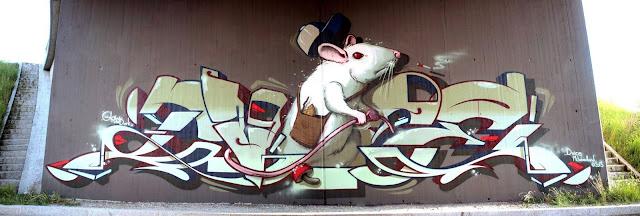 Graffiti, Sprayen, Malen