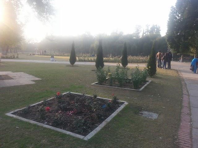 Beautiful settings at Rose Garden