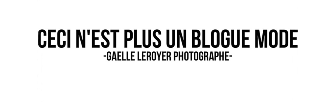 Blog mode, photographie