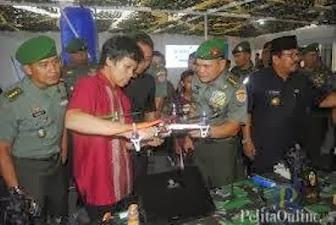 Pesawat Tanpa Awak Buatan Dua Mahasiswa Undip Semarang
