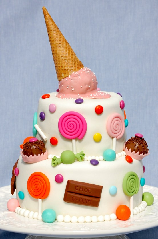 B Day Cake Images For Girl : B-day Cakes for little Girls - Romantic Ideas for ...