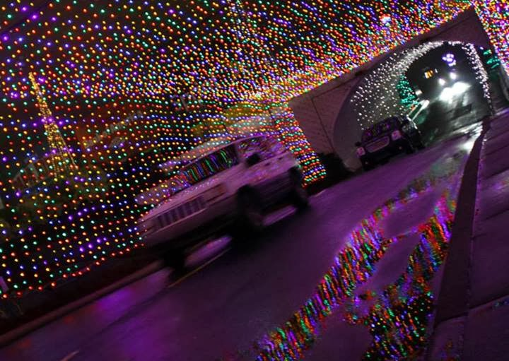 Charlotte Speedway Christmas Lights