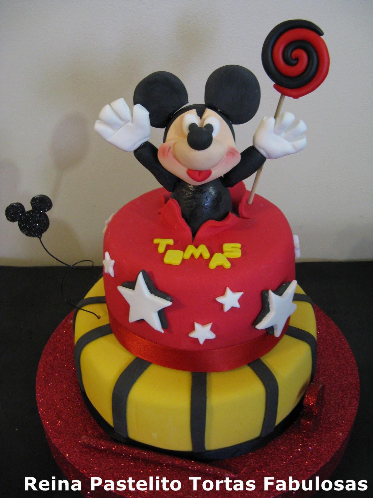 Torta de Mickey Mause para Tomas, La Mama de Tomas queria una torta