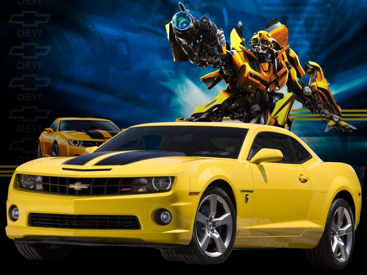 Camaro Bumblebee Car Wallpaper Specs