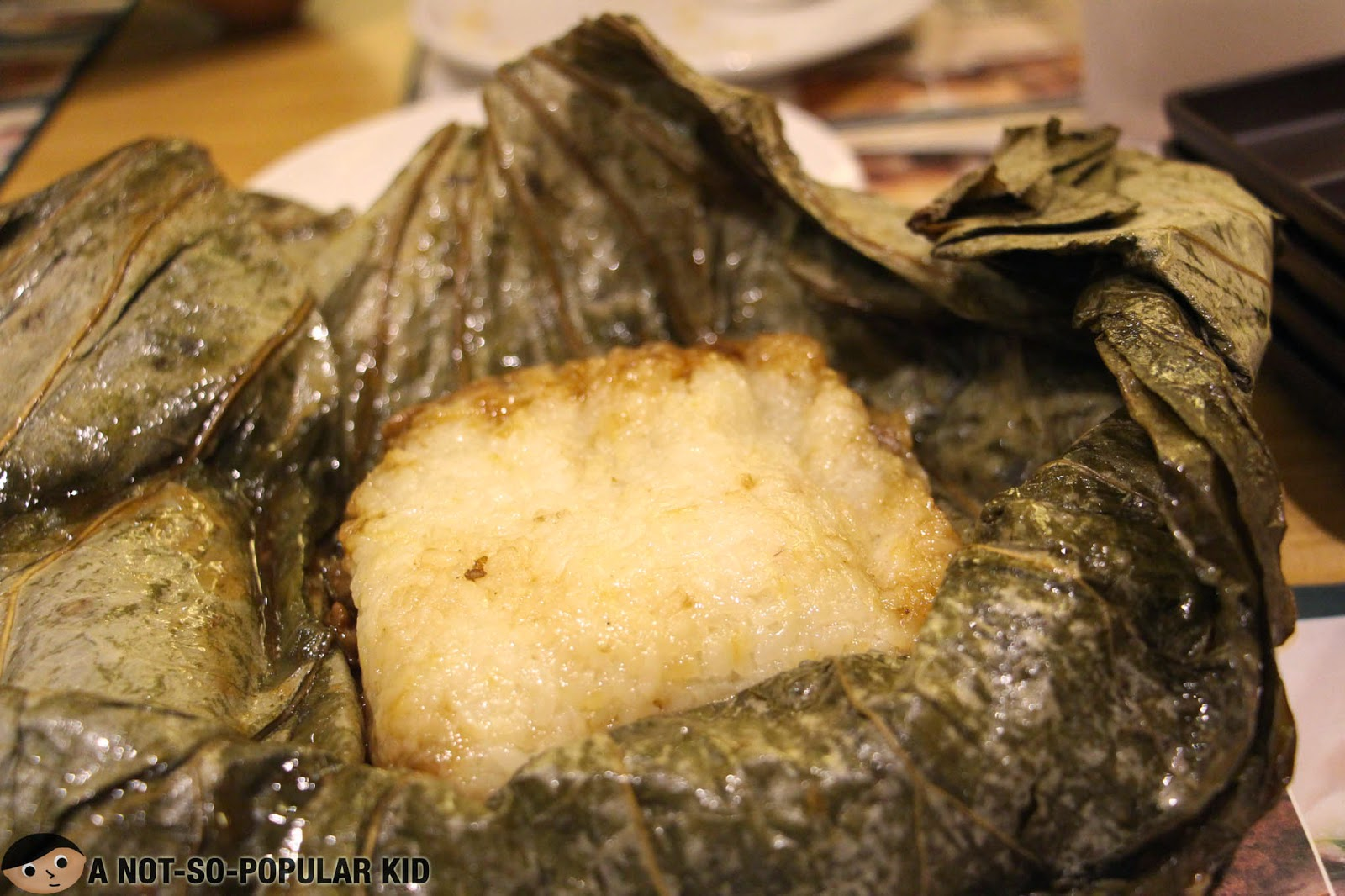 Unwrapped Glutinous Rice of Tim Ho Wan