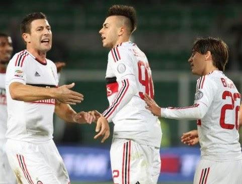 Palermo-Milan 2-2 El Shaarawy