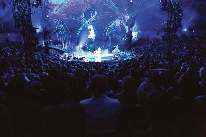 Interior del Cirque du Soleil