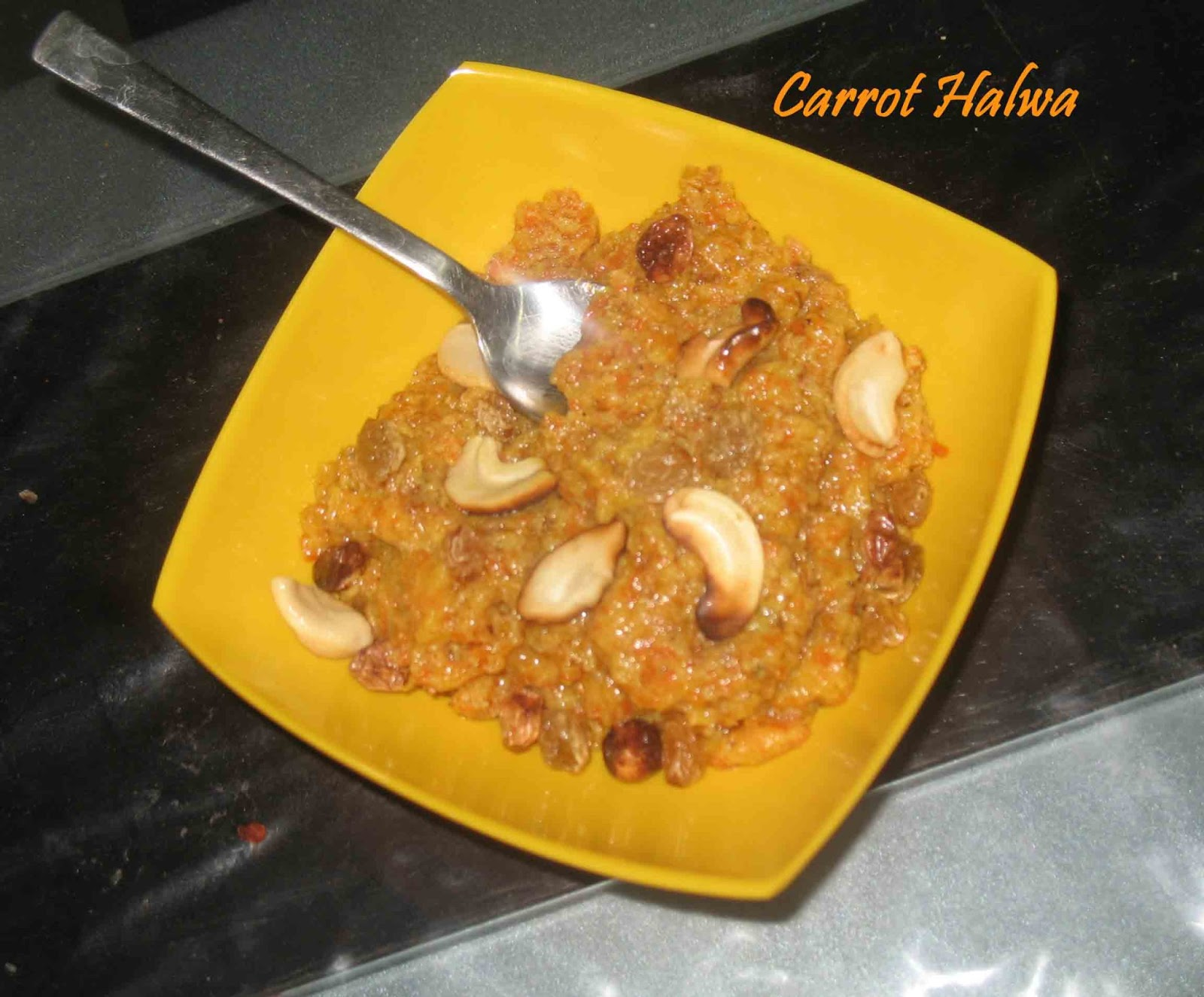 how to cook carrot halwa