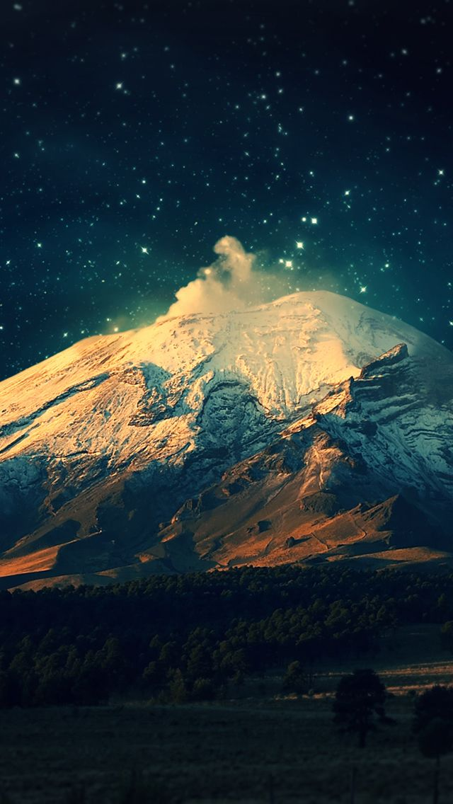 Beautiful Mountain Wallpaper for iPhone