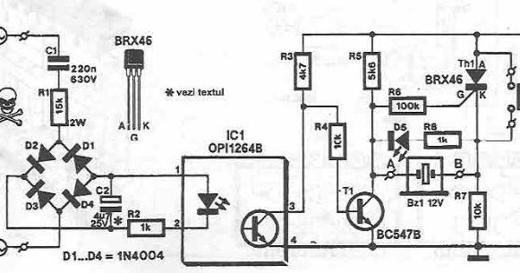 network voltage indicator circuit diagram