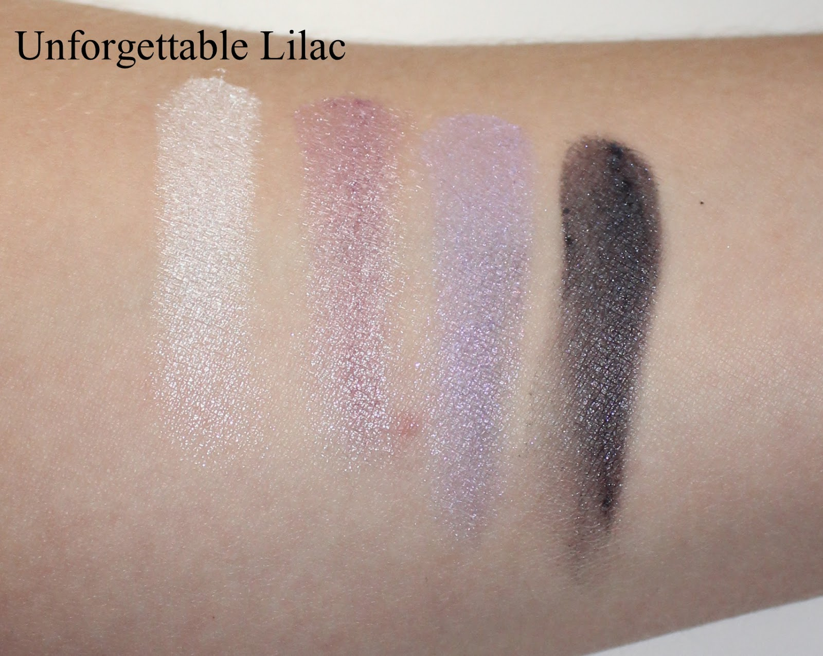 L'Oréal Colour Riche Wet Eyeshadow in Unforgettable Lilac Swatches