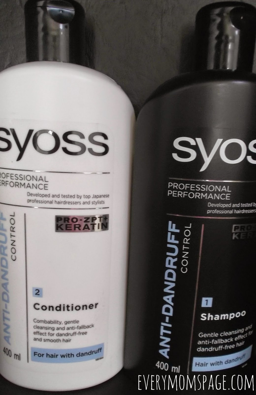 EveryMomsPage ProductReview Syoss Shampoo And Conditioner