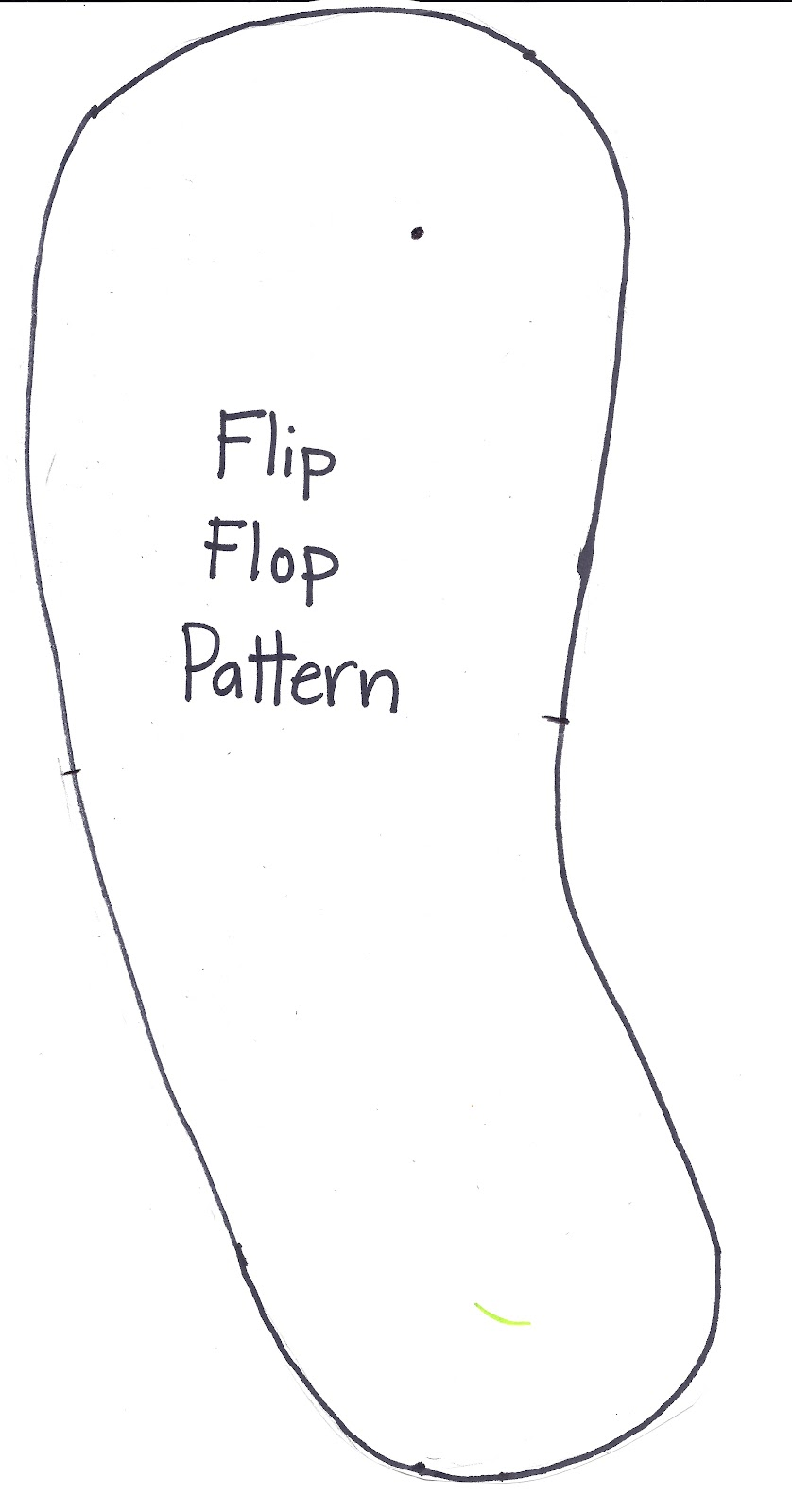 how to cut out a pattern with multiple sizes