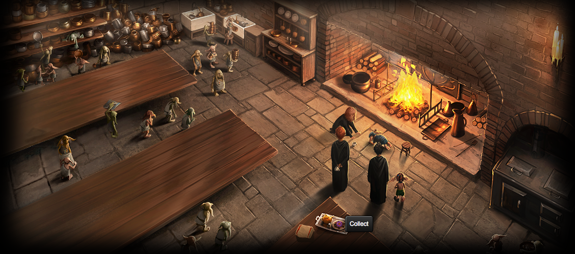 Guide to pottermore items gof chp 21 hogwarts kitchens for Table quidditch