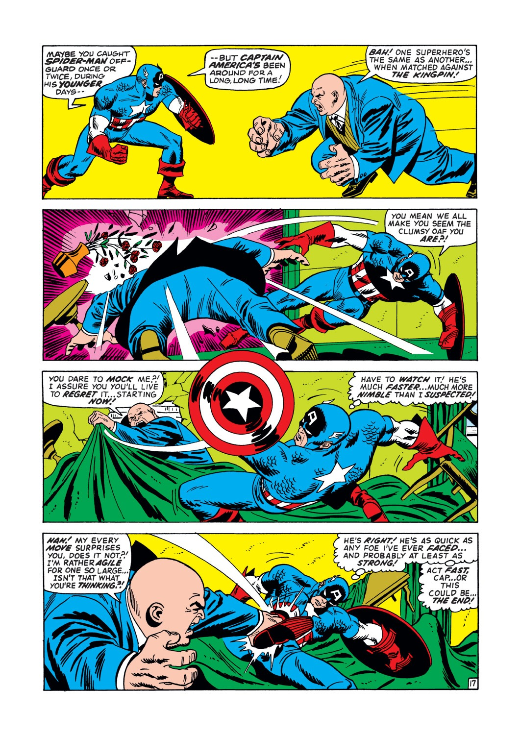 Captain America (1968) Issue #147 #61 - English 18