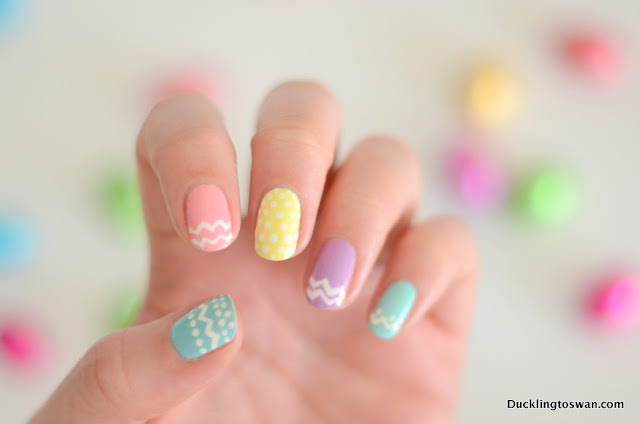 ducklingtoswan blog nail art