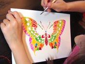 Ζωγραφίζοντας πεταλούδες