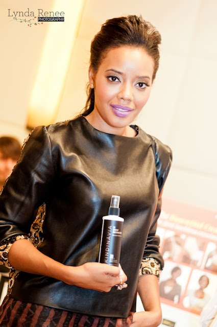 Angela Simmons Spotted at