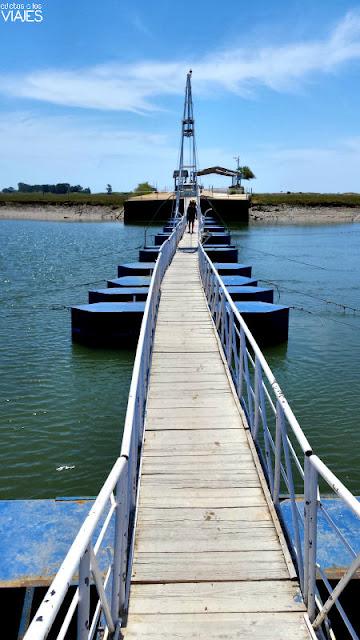 Puente sobre la ría Formosa, Algarve
