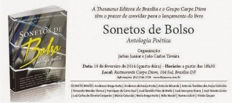 LIVRO: SONETOS DE BOLSO – ANTOLOGIA