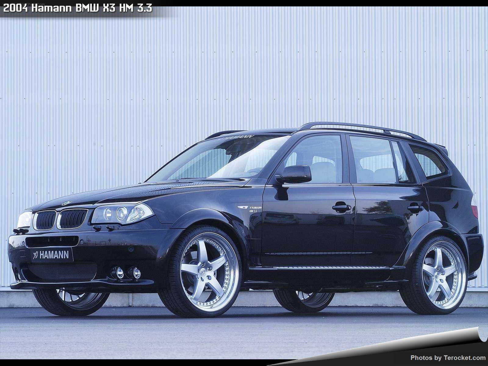 Hình ảnh xe ô tô Hamann BMW X3 HM 3.3 2004 & nội ngoại thất