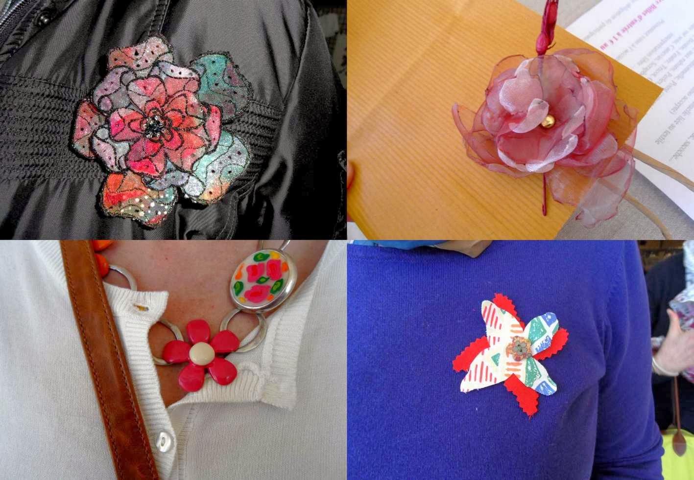 Salon des createurs du textile challenge fleurs for Salon du textile