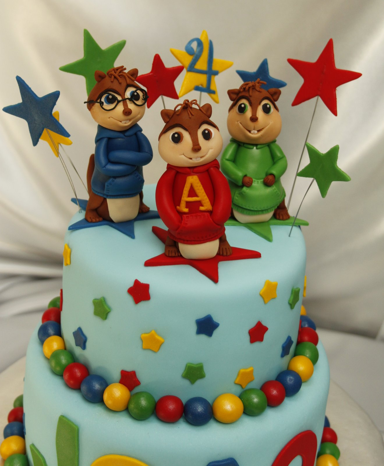 Alvin And The Chipmunks Cake Decorations Uk