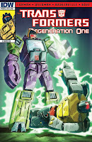 The Transformers: Regeneration One #88 Cover