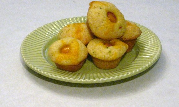 Duo of Chefs: Mini Jalapeno Corn Dog Muffins
