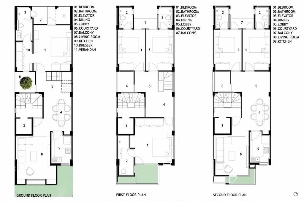 Amazing Thin House Plans Gallery Exterior Ideas 3D Gaml Us Gaml Us