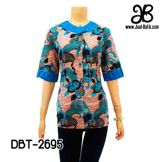 Model Blus Batik DBT-2695