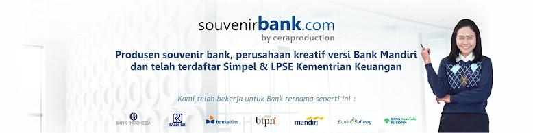 Souvenir Bank | Souvenir Event Perbankan | Merchandise Perbankan