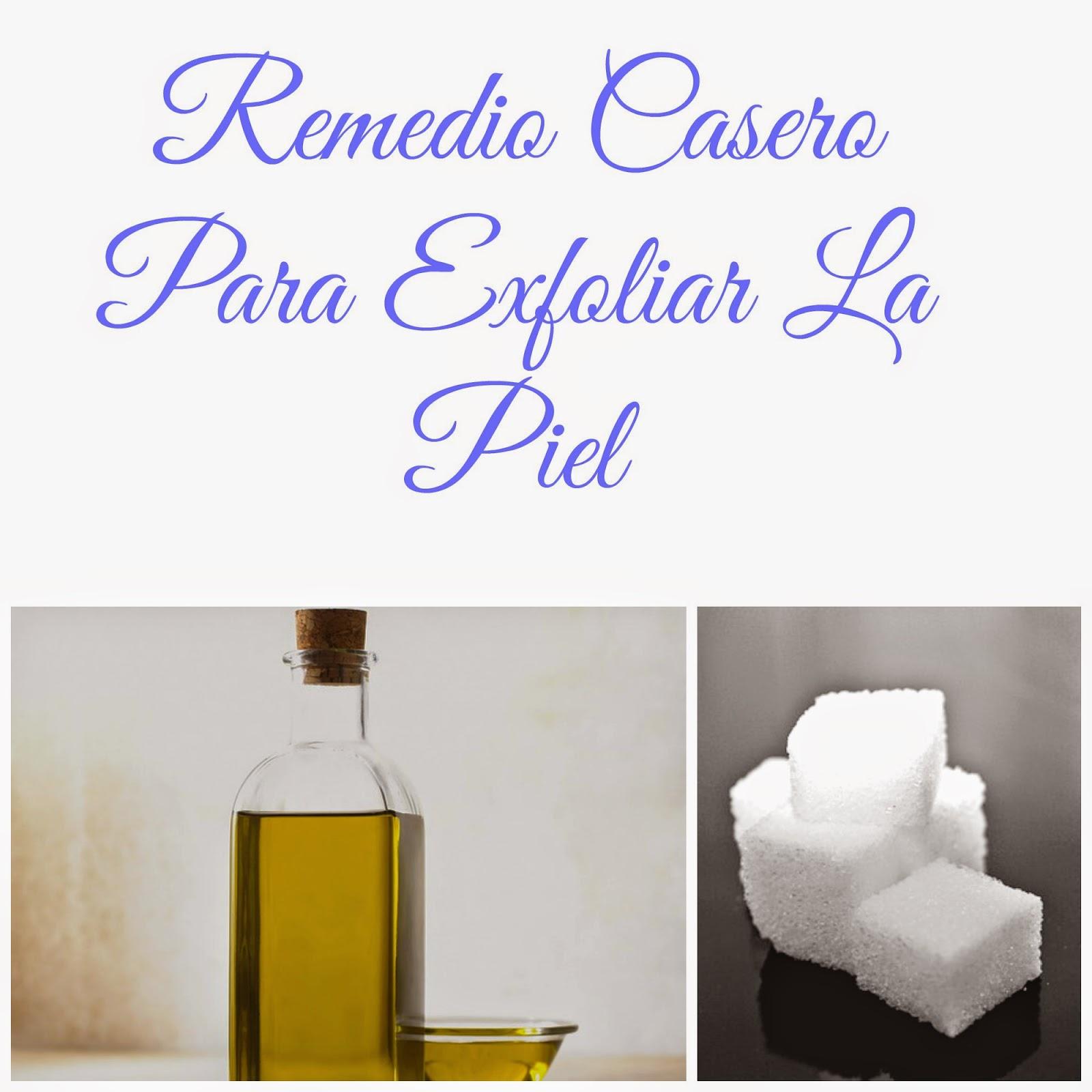 REMEDIO CASERO PARA EXFOLIAR LA PIEL